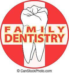 família, odontologia
