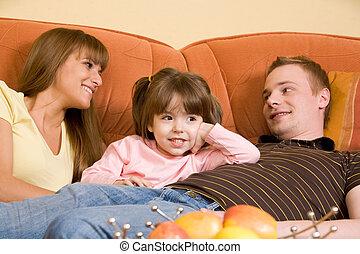 família, relaxante