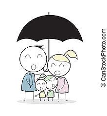 família, seguro