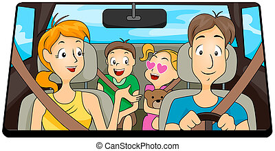 família, viagem