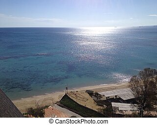famagusta, 浜