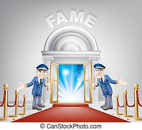 Fame Red Carpet Entrance