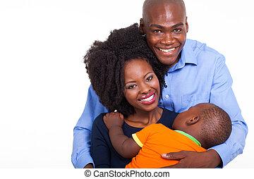 famiglia americana africana