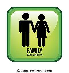 famiglia, disegno