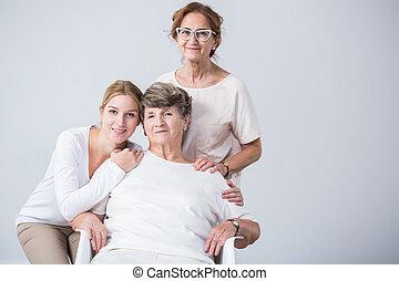 famiglia, femmina, membri