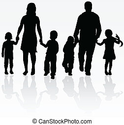famiglia, fuori