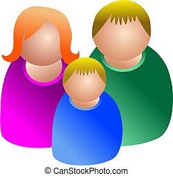 famiglia, icona