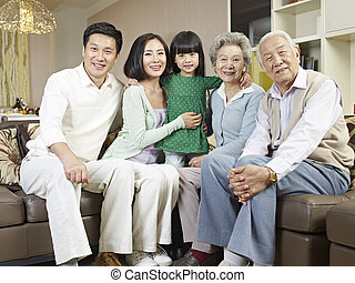 famiglia, three-generation