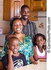 familia , africano