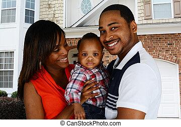 familia americana africana