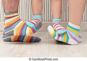 familia , calcetines
