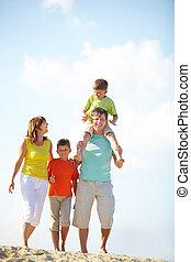 familia , el vacaciones
