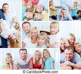 familia , en casa