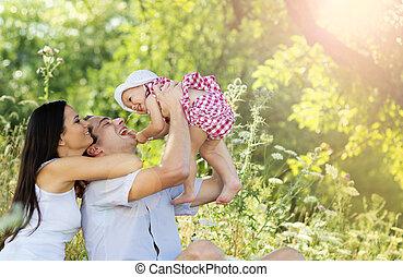 familia , feliz