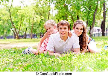 familia , mentir parque