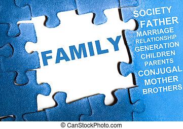 familia , rompecabezas