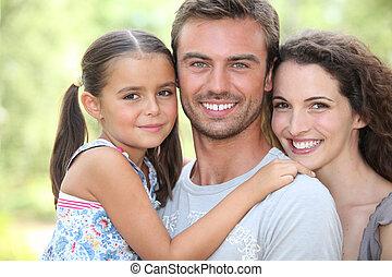 familia , se abrazar