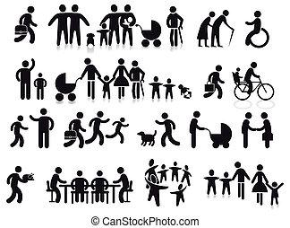 familias, y, generaciones