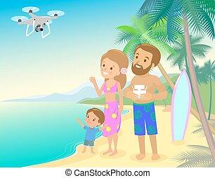 sommer macht spa familie aufnahme strand urlaub eltern nehmen gro gro eltern feiertag. Black Bedroom Furniture Sets. Home Design Ideas