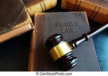 familie, juridisk bog