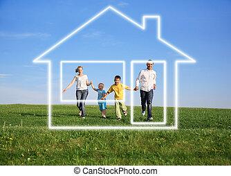 haus silhouette familie stockbilder suche stockfotos fotografien und foto clipart csp1824945. Black Bedroom Furniture Sets. Home Design Ideas