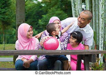familie, moslem