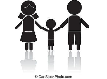 familie, pind figur