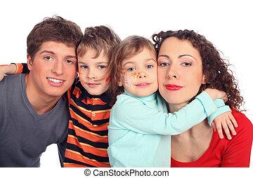 familie, vier