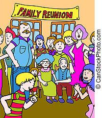 familie wiedervereinigung