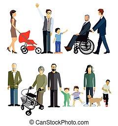 Familien Generation