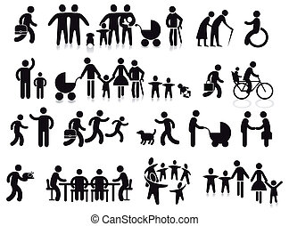 familien, generationen