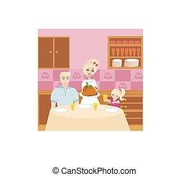 familienabendessen