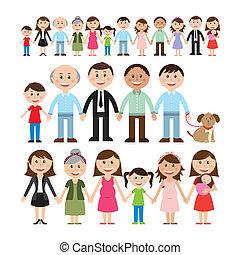familj, design