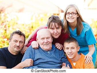 familj, omsorg