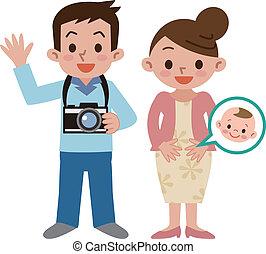 famille, appareil photo