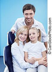 famille, art dentaire