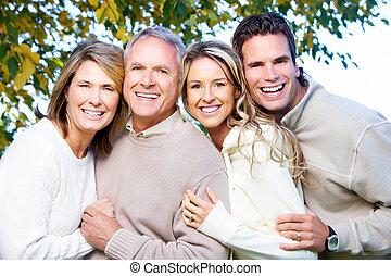 famille, heureux