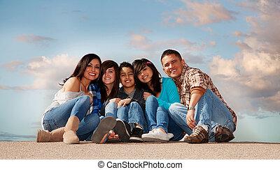 famille hispanique