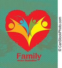 famille, icônes