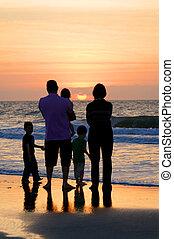 famille, mer