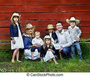 famille, sept