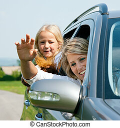 famille, voyager voiture