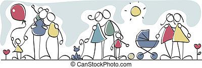 familles, rigolote