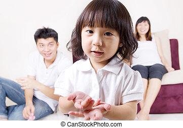family., アジア人
