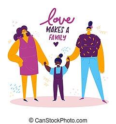 family., 同性愛, 女性, lgbt