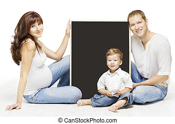 Family Advertising Blank Copyspace Board. Parents Education