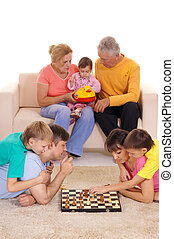 family and chess