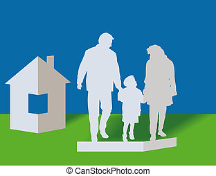 Family and house