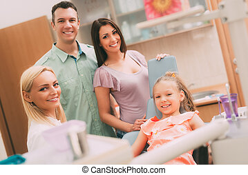 Family At The Dentist