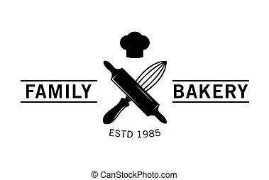 Family bakery : Bakery label badge